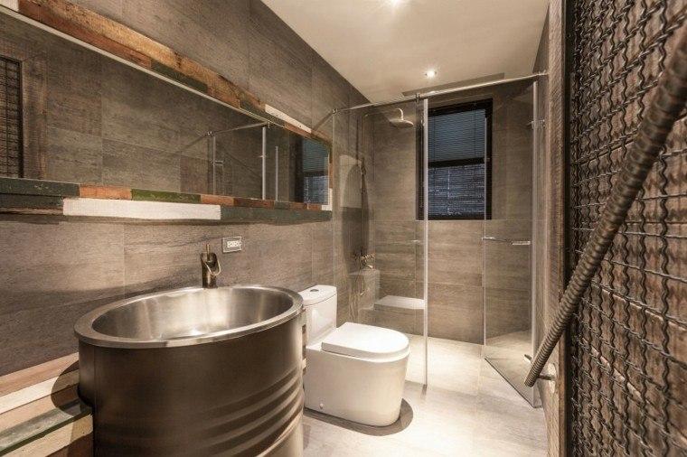 banos estilo minimalista moderno lavabo original ideas