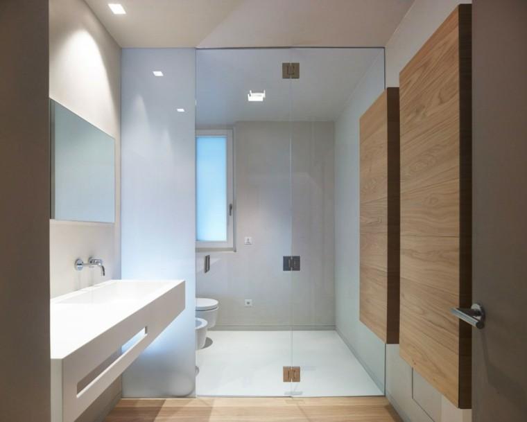 banos estilo minimalista moderno mamapra cristal separa ideas