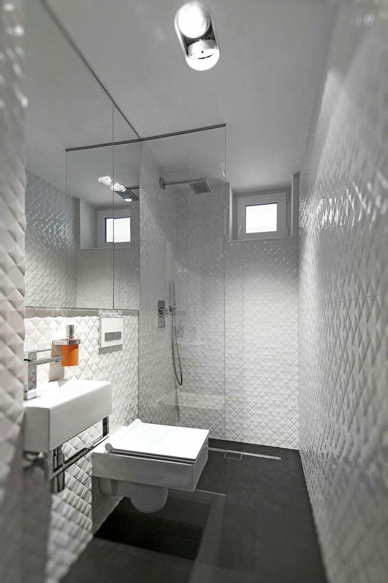 Ba os minimalistas modernos 100 ideas impresionantes for Banos muy pequenos modernos