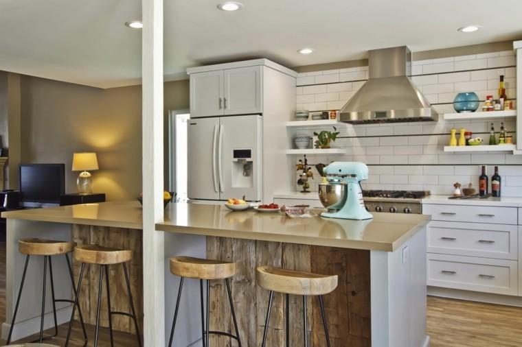 Barras De Cocina De Dise 241 O Moderno 50 Ideas