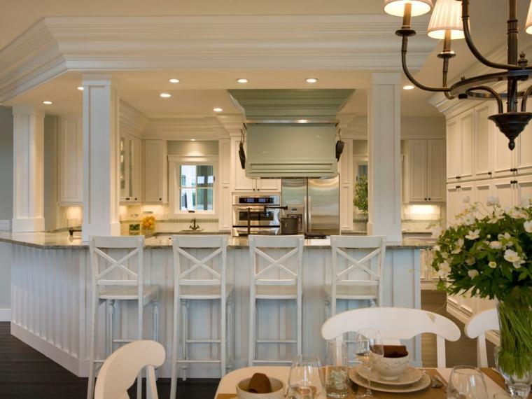 barras de cocina estilo retro