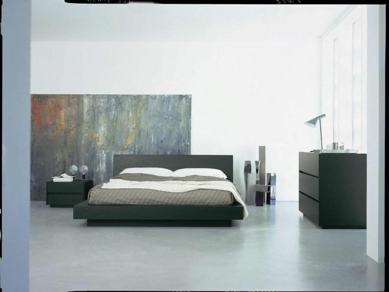 blanco negro cama lampara colores