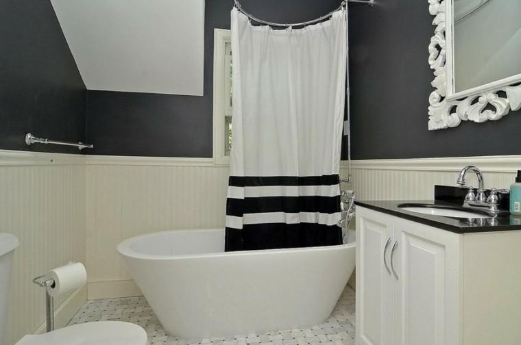 blanco negro combinacion metal cortina