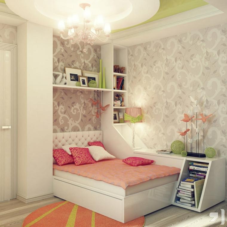 bonito diseño cuarto habitacion juvenil chica