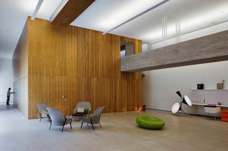 bonito diseño salon estilo minimalista