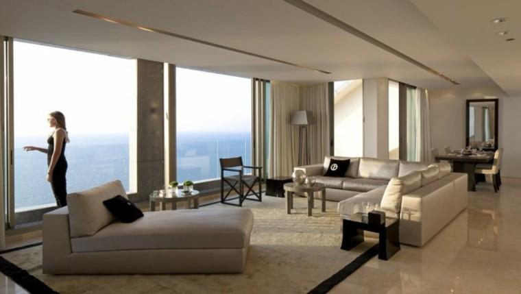 bonito diseño salon moderno vistas