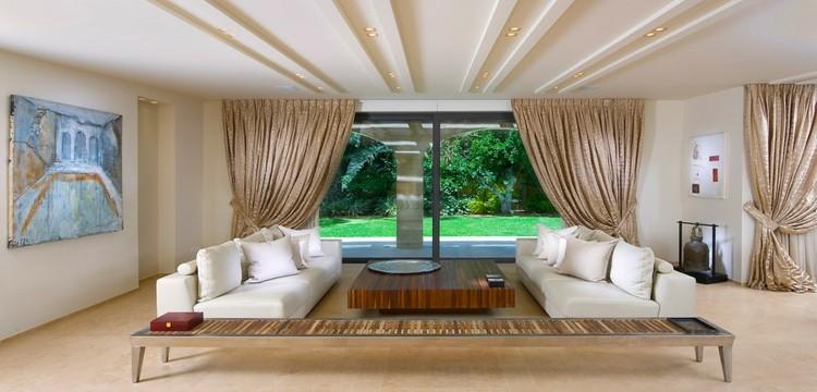 bonito diseño techo moderno salon