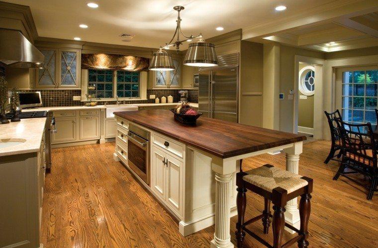 bonito diseños de cocinas tradicionales