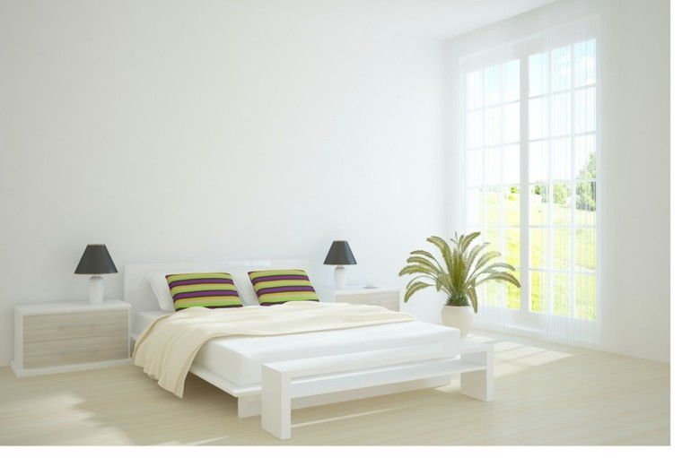 bonito dormitorio muebles blancos ideas para decorar una casa
