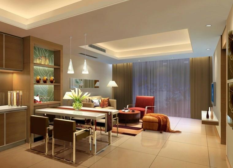 Ideas para decorar una casa cien ejemplos - Disenar salon comedor ...