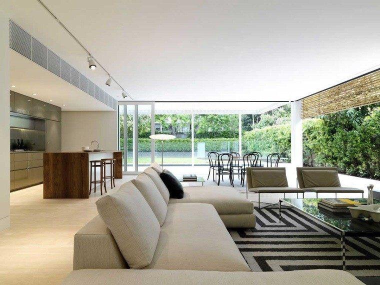 Salones de lujo veinticinco ideas para decorar for Lujo interiores minimalistas