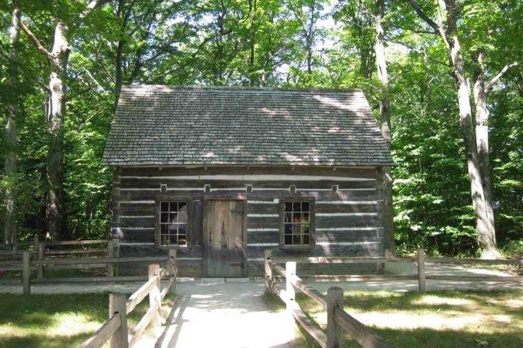 cabaña maderna estilo rustico
