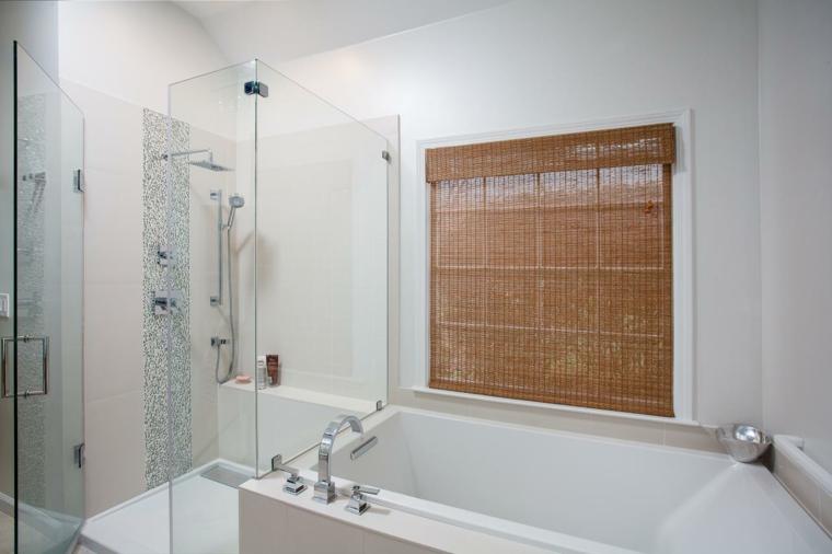 cabina cristal creativa diseño bañera