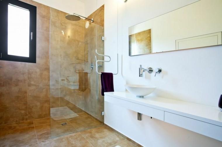 cabina ducha lavabo blanco