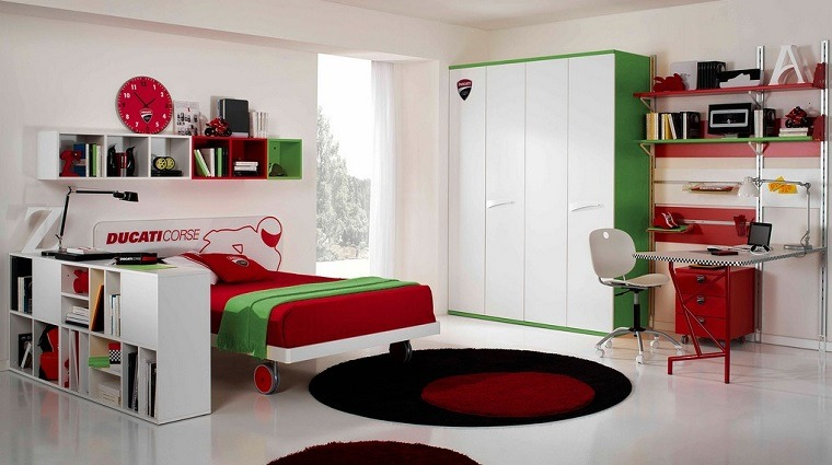 cama ruedas facil mover dormitorio nino ideas