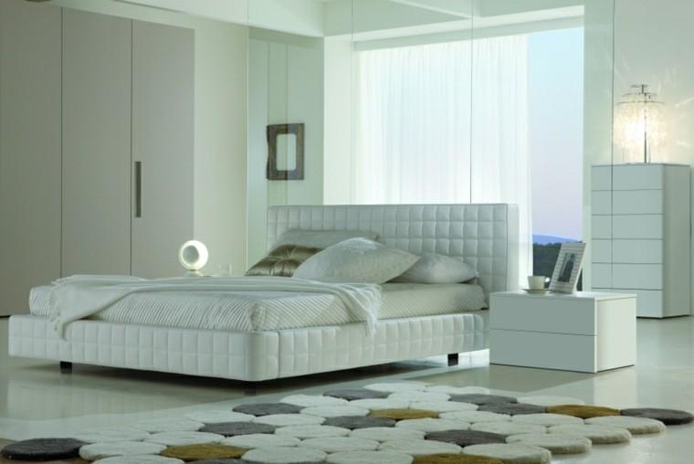 cama suave colores redondo alfombra