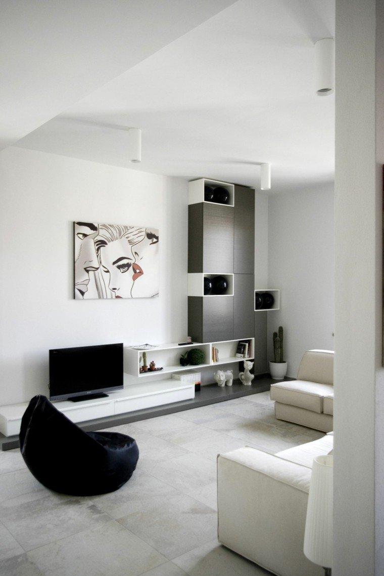 Blanco y negro para interiores 50 ideas inspiradoras for Disenos de interiores en blanco y negro