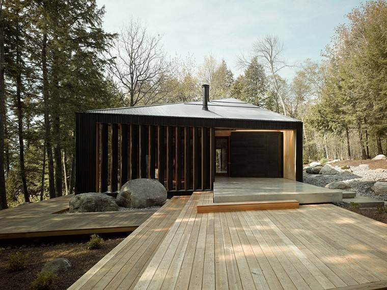 casa bosque estilo moderno