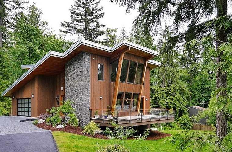 Casa de campo el estilo contempor neo m s natural - Disenos de casas de campo modernas ...