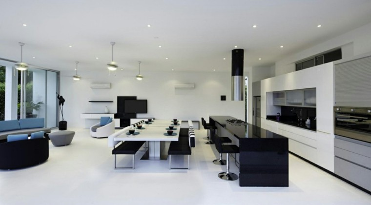 casa colombia moderna butacas blanco