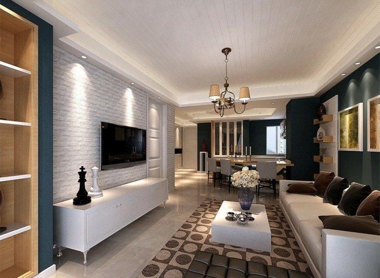 Casa decoracion y consejos para embellecerla con estilo - Como decorar un salon alargado ...