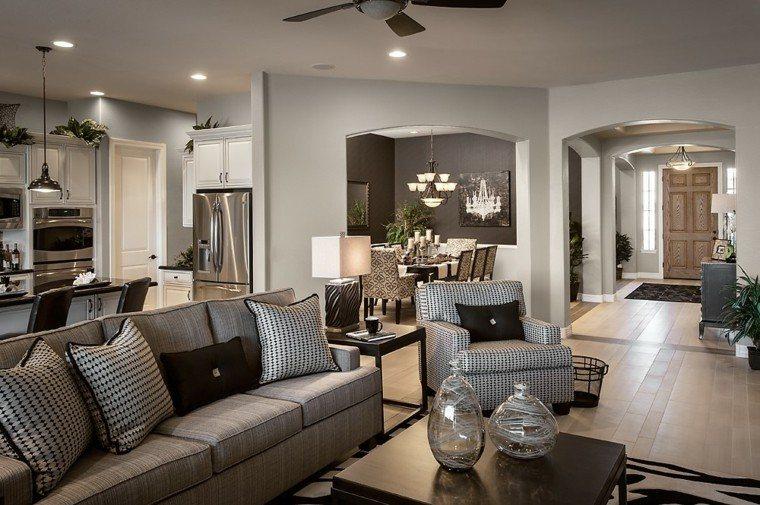 casa decoracion elegante estilo led
