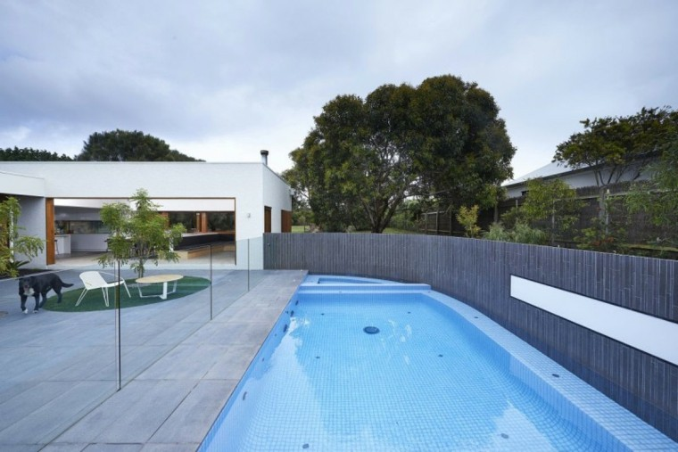 casa jardin piscina valla proteger intimidad ideas