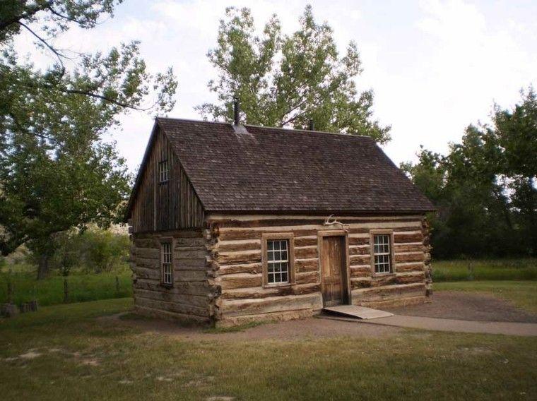 Fachadas de casas rusticas cincuenta dise os con encanto - Casas de madera para campo ...
