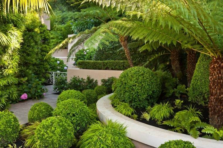 casa terraza jardin patio plantas