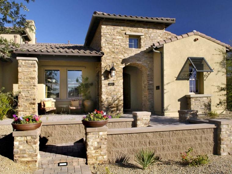 Fachadas de casas rusticas cincuenta dise os con encanto - Casas prefabricadas de piedra ...