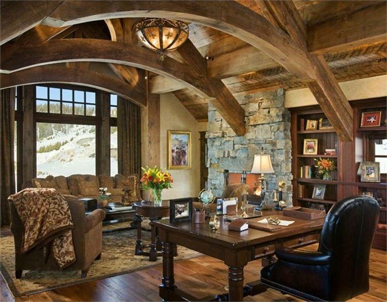 Casas rusticas decorando con un aire de naturalidad for Decoracion de casas rusticas