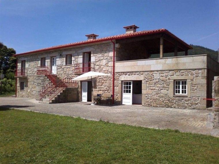 Fachadas de casas rusticas cincuenta dise os con encanto - Casas con fachadas de piedra ...