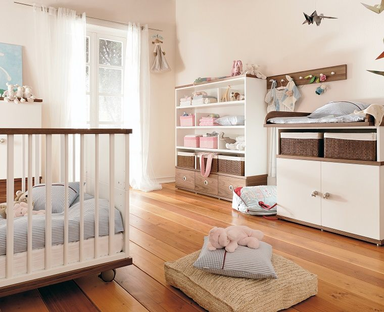 cestos-decoracion-habitacion-bebe