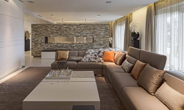 Tipos de chimeneas perfectas para un hogar acogedor - Chimeneas de salon ...