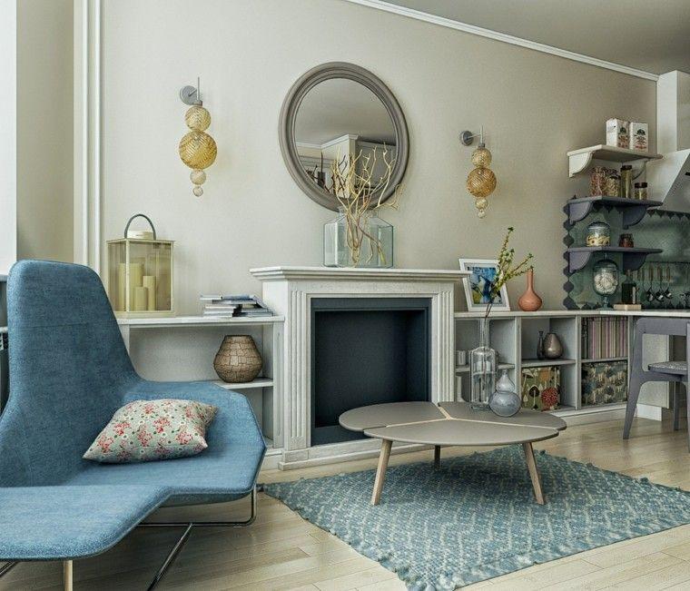 Decorar espacios peque os es muy f cil con estas ideas - Espejos pequenos pared ...