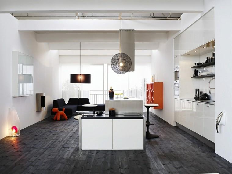 cocina blanca estilo nordico