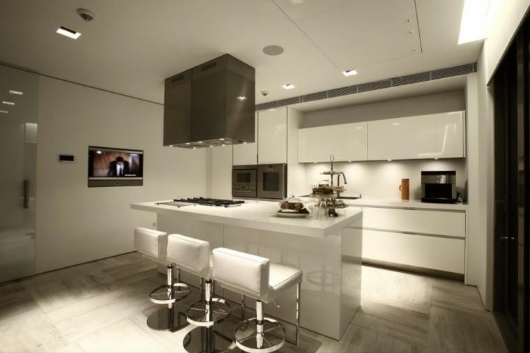 Cocina americana con barra funcionalidad en tu hogar for Cocinas tipo americano modernas