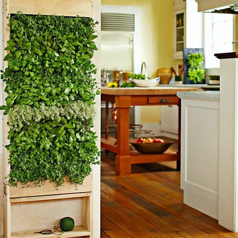 cocina esfera creativo jardin aromaticas