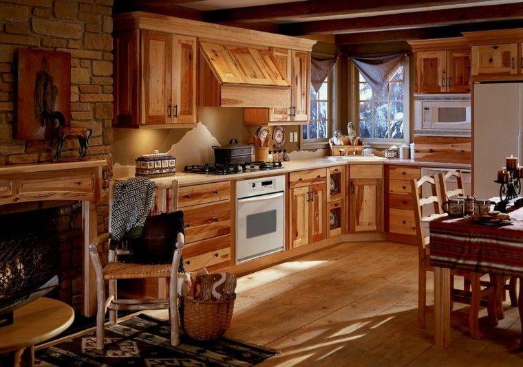 cocina estilo cuadros caballo estilo