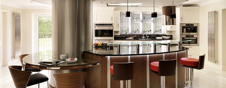 Cocinas modernas con isla 100 ideas impresionantes for Sillas para isla de cocina