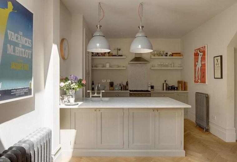 Cocinas modernas con isla 100 ideas impresionantes for Cocinas originales pequenas