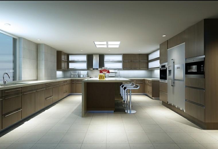 Cocinas modernas con isla 100 ideas impresionantes for Cocinas amplias con isla