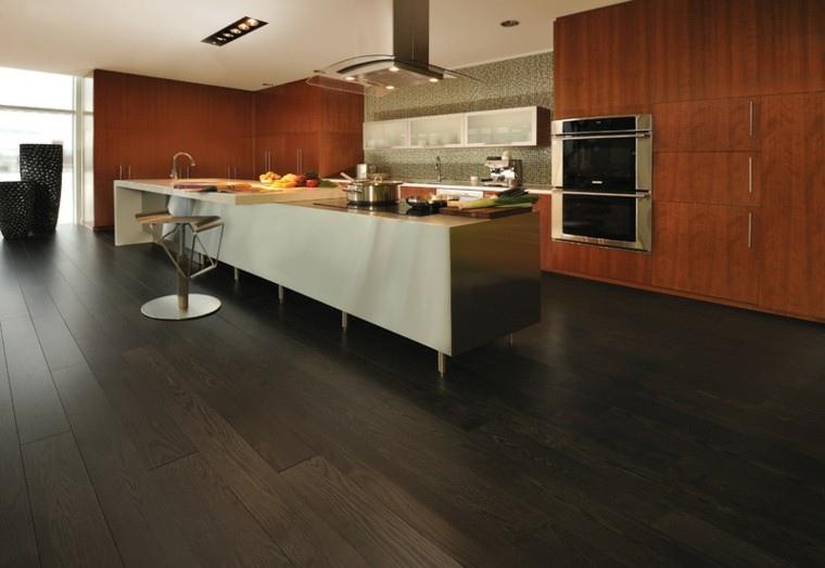 Cocinas modernas con isla: 100 ideas impresionantes -