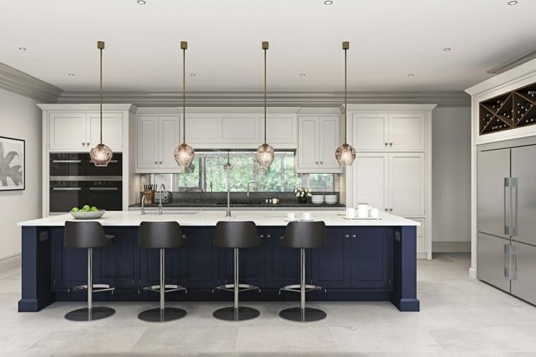 cocinas-modernas-con-isla-grande-color-azul
