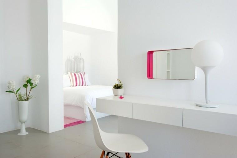 cojines rosado jarron silla flores