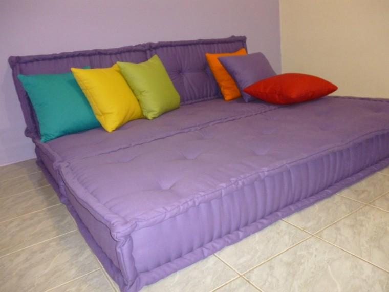 colchon color morado sofas baratos