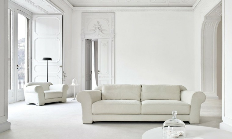 color blanco salon moderno sofa sillon ideas