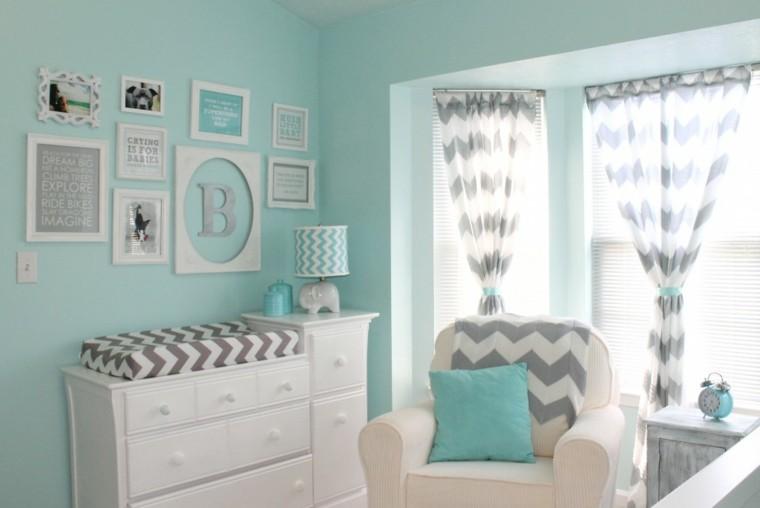 Color dise o y creatividad para habitaciones infantiles - Habitaciones para bebes ...