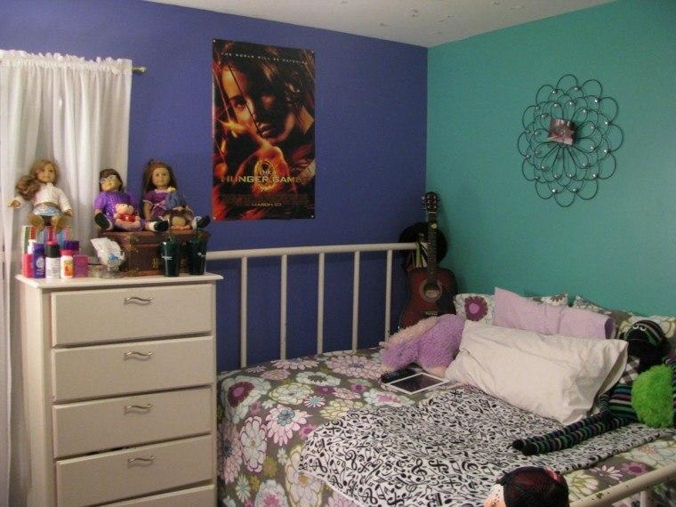 color diseño habitacion niña muñecas