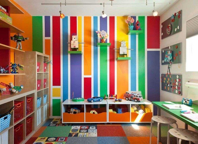 color diseño interesante colorido paredes